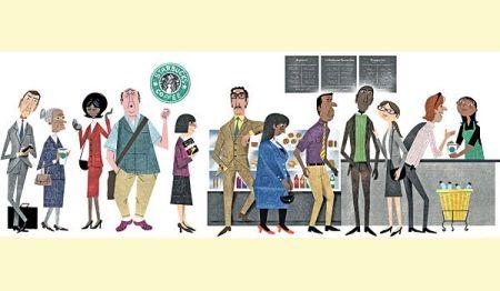 coffee line
