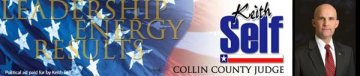Keith Self Collin County Judge Texas