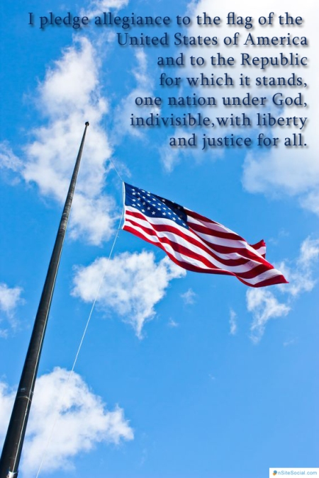 flag day pledge of allegiance