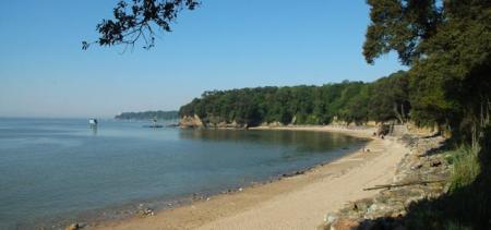 Saint-Nazaire chemin cotier baie
