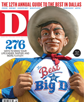 D Magazine Best of Dallas August 2013