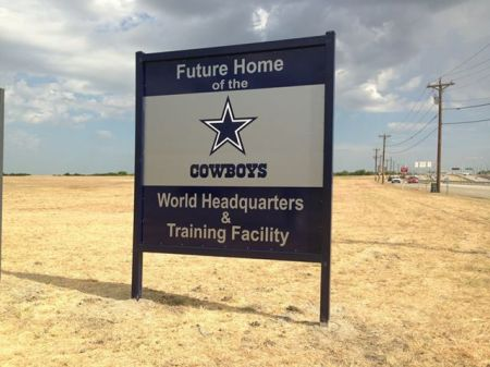 future home of dallas cowboys headquarters frisco texas