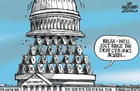 Debt Ceiling Cartoon