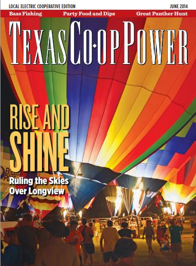Texas Co-op Power Magazine Cover June 2014