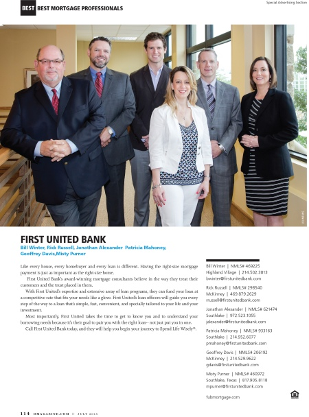 FP First United Best Mortgage Pros
